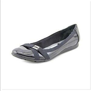 Anne Klein Sport Abell Patent Ballet Slip On Flats